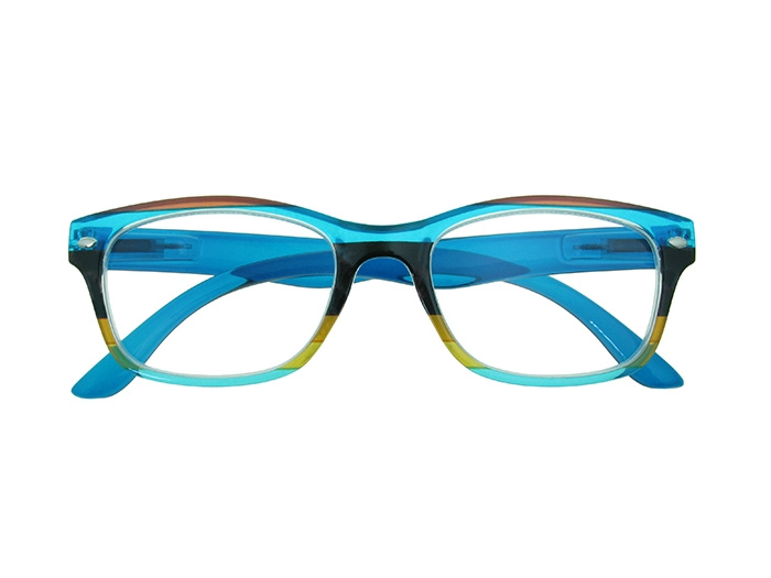 Reading Glasses 'Carnival' Blue Multi
