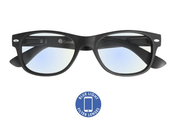 Blue Light Reading Glasses 'Billi' Matt Black