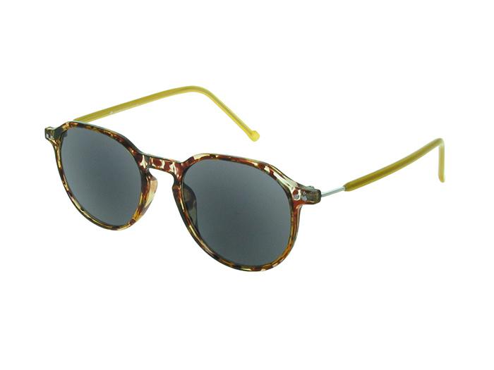 Reading Sunglasses 'Portland' Tortoiseshell/Yellow