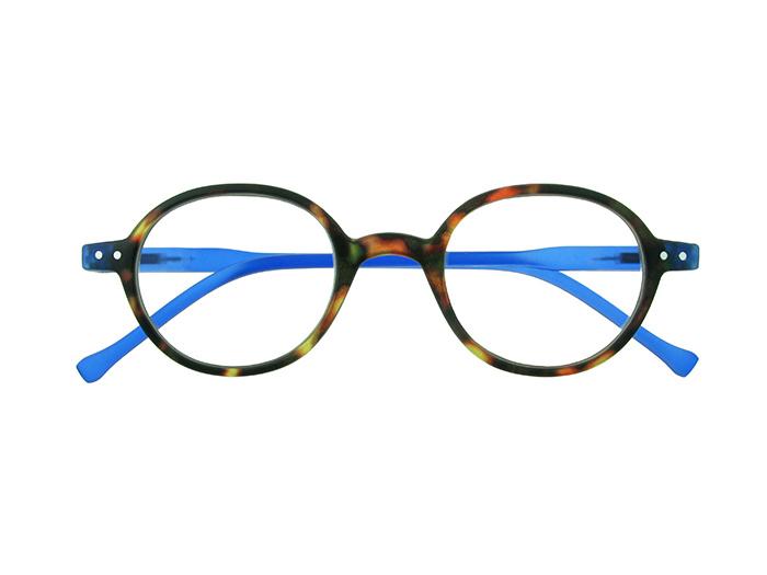 Reading Glasses 'Campbell' Tortoiseshell/Blue