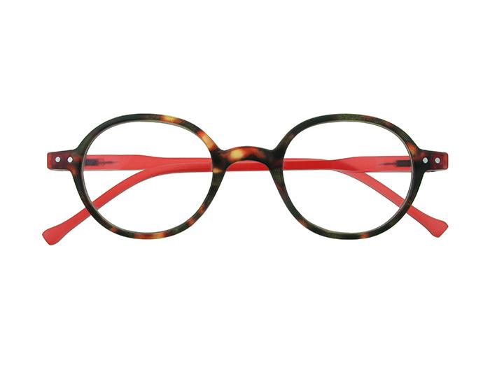 Reading Glasses 'Campbell' Tortoiseshell/Red