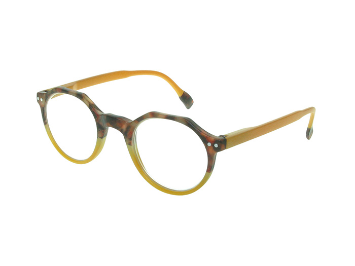 Reading Glasses 'Keaton' Tortoiseshell/Mustard