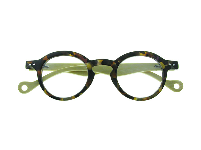 Natural Bamboo Readers 'Clarke' Tortoiseshell