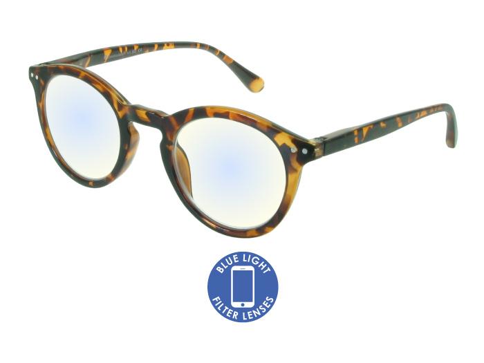 Blue Light Reading Glasses 'Embankment' Tortoiseshell
