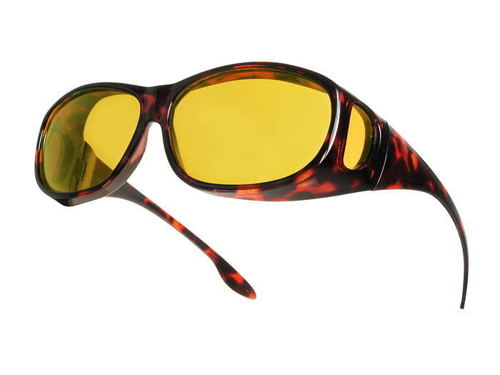 Sunglasses 'Night-Vision Coverspecs' Tortoiseshell