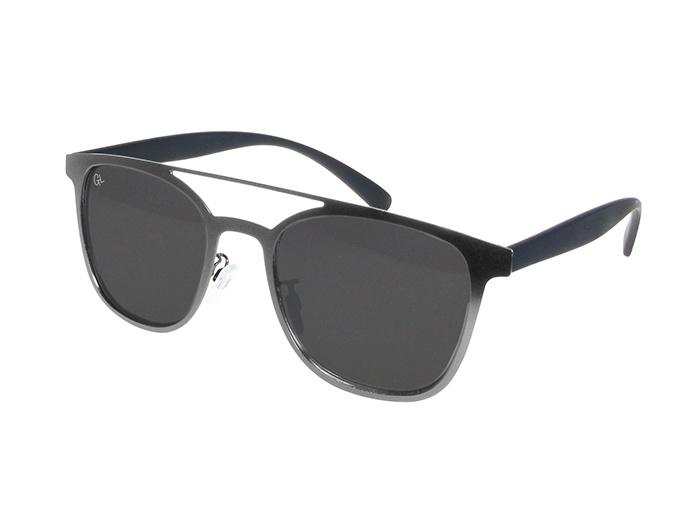 Sunglasses Polarised 'Longbeach' Gun Metal