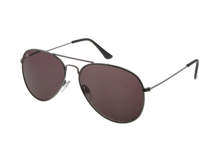 Sunglasses Polarised 'Maverick' Gun Metal