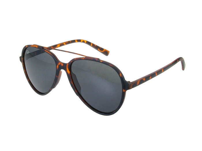 Sunglasses Polarised 'Cruise' Matt Tortoiseshell