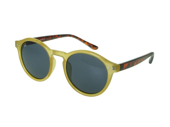 Sunglasses Polarised 'Robbie' Mustard/Tortoiseshell