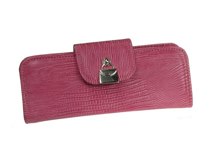 Glasses Case 'Handbag Design' Pink