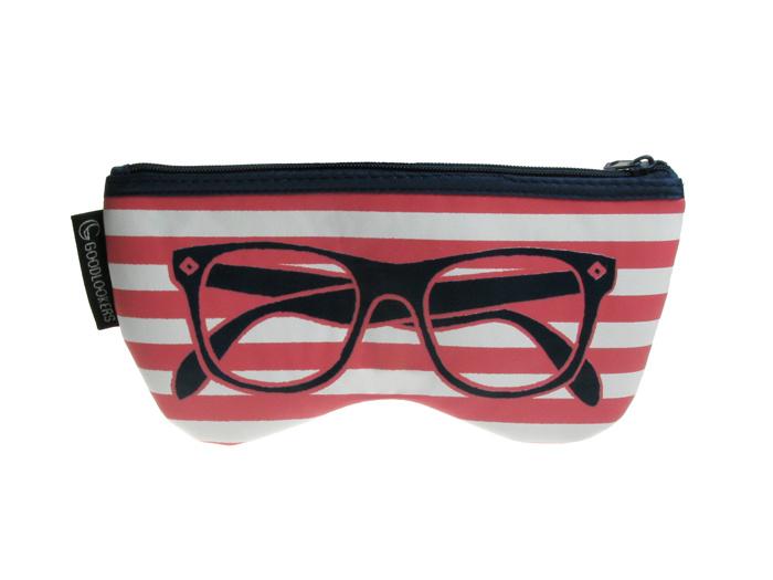 Glasses Case 'Shaped Retro' Pink