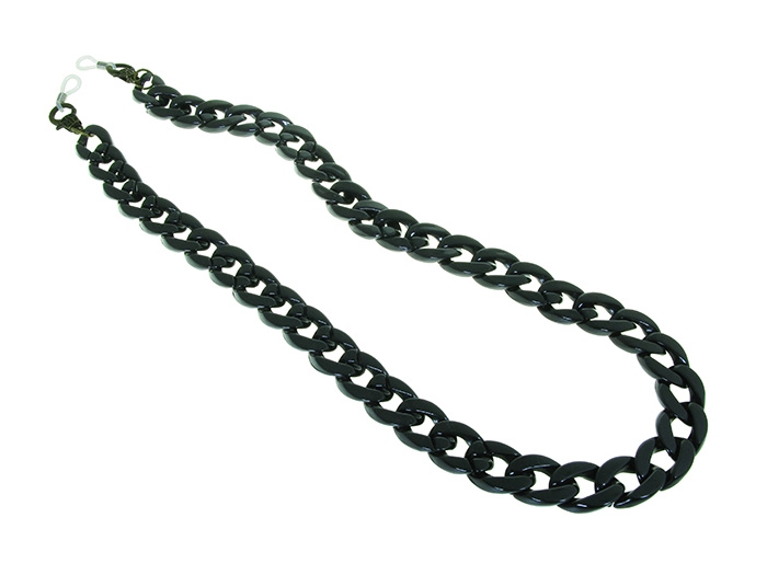 Glasses Chain 'Flat Chunky' Black