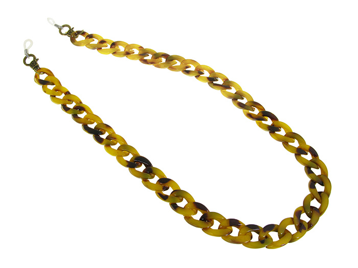 Glasses Chain 'Flat Chunky' Mustard