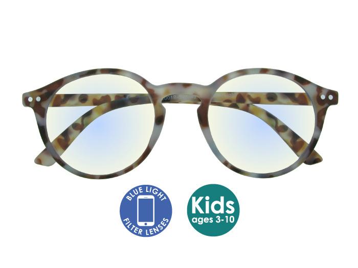 Blue Light Non-Prescription Glasses 'Sydney Kids' Multi Tortoiseshell