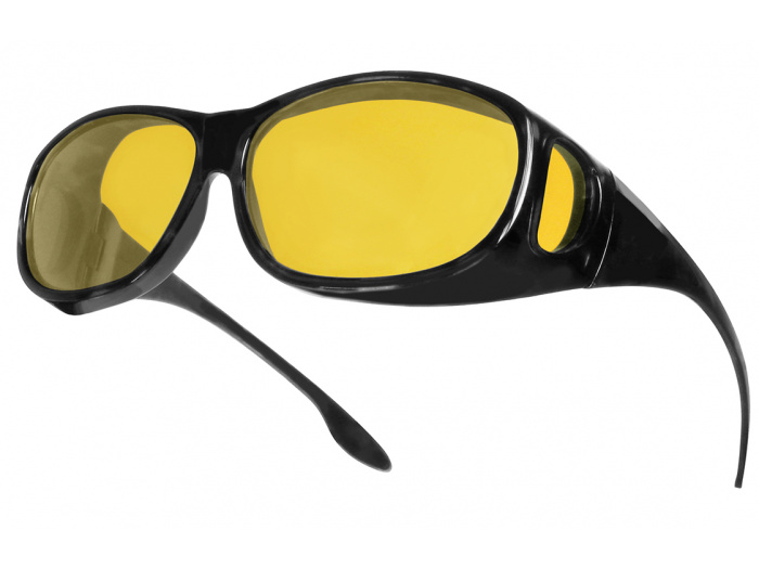 Sunglasses 'Night-Vision Coverspecs' Black
