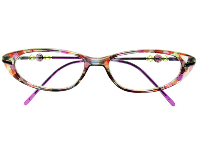 afc04fe0e0f Goodlookers Reading Glasses - Monroe Purple Multi - Goodlookers