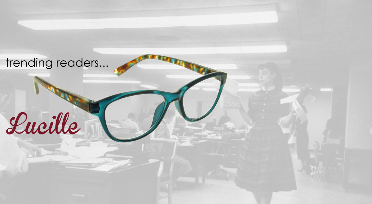 Lucille reading glasses